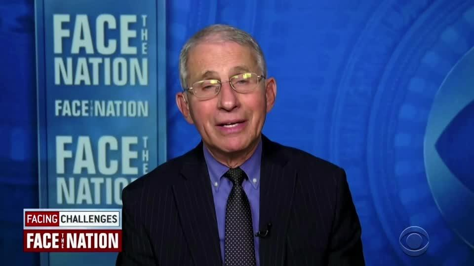 Fauci urges Americans to get any of 3 vaccines