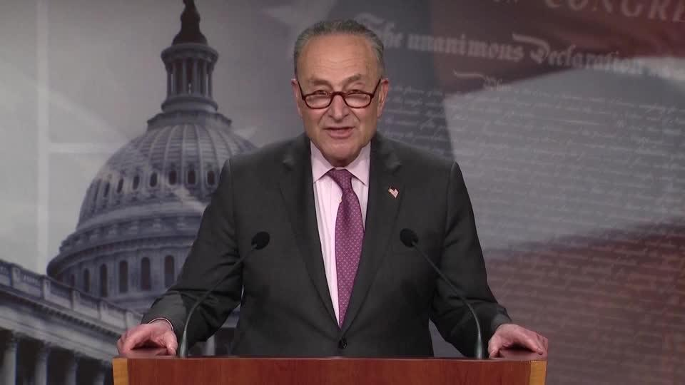 'Hardy debate' on COVID bill could start Wednesday -Schumer