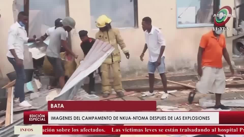 Death toll mounts from Equatorial Guinea explosions