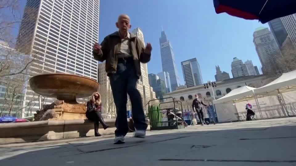 'Old age is not for sissies,' 89-year-old New Yorker ready to dance again