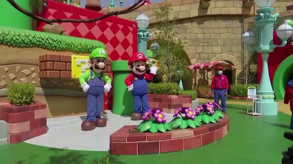 'Super Mario' leaps into Universal Studios Japan