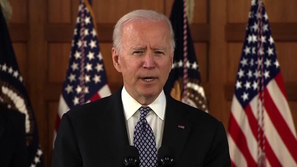 'Our silence is complicity' -Biden on xenophobia