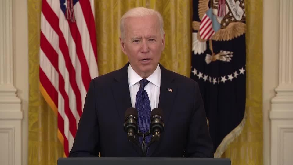 Americans not being 'paid to stay home' -Biden
