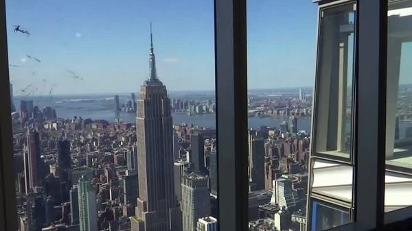 ニューヨークに新たな展望台、摩天楼を一望 10月に正式オープン(字幕・12日)