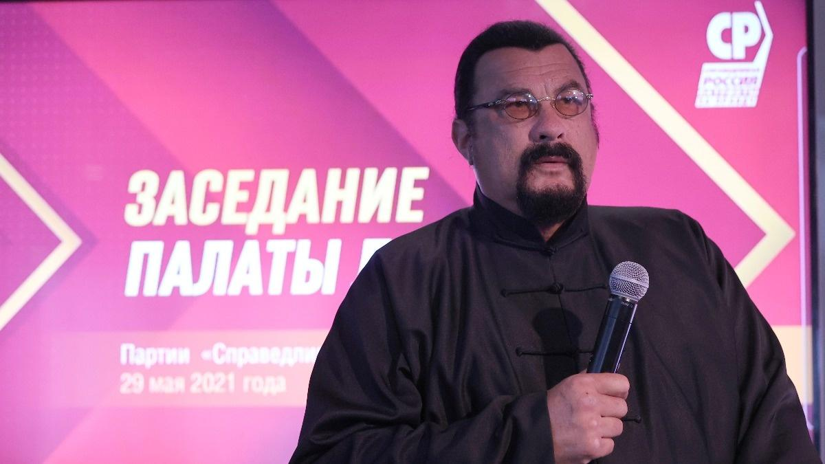 Hollywood actor Seagal joins pro-Kremlin party