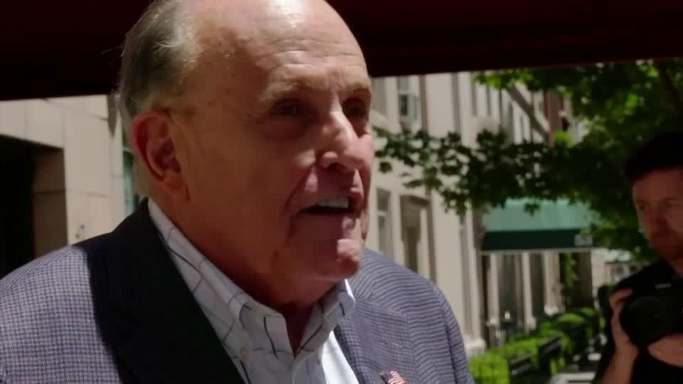 Giuliani's law license suspended by NY court