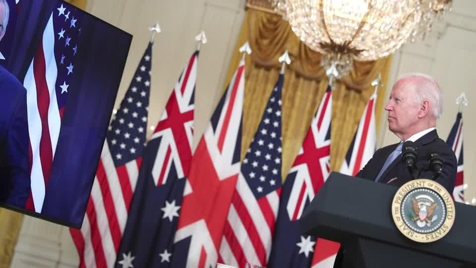 China, France rebuke U.S. nuclear sub pact 'AUKUS'