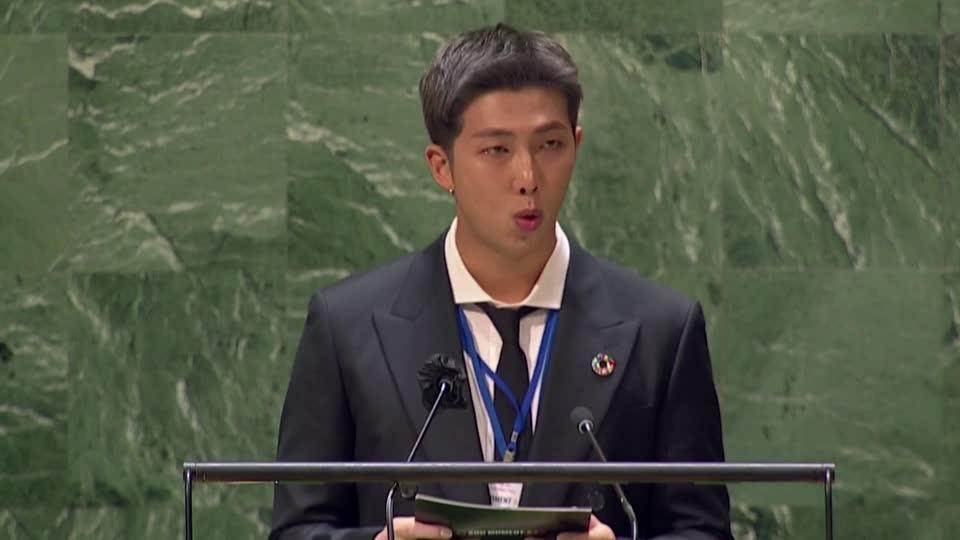 ''This generation says 'welcome''': BTS at UN