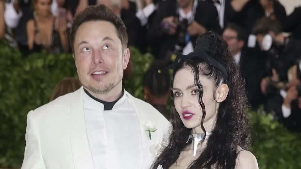 Elon Musk and singer Grimes call it 'semi' quits