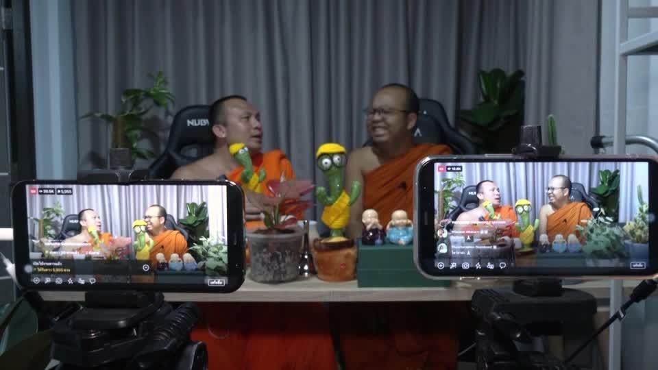The Thai monks turned social media stars