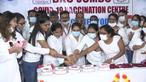 インドでワクチン接種10億回超える、各地で祝賀ムード 2回完了は31%(字幕・21日)