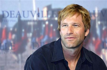 Actor Aaron Eckhart Poses For Photographers During The Photocall Of His Film Thank You Smoking At 32nd American Festival Deauville In