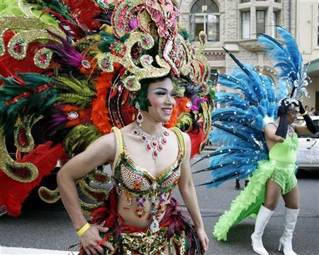 Mardi Gras Parade Costumes
