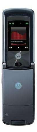 A Motorola RAZR V9m is seen in a undated publicity photo. Verizon Wireless on Friday unveiled a new multimedia wireless phone by Motorola Inc. called Motorazr V9m, for sale in September. REUTERS/Handout