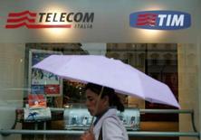 <p>Le conseil d'administration de Telecom Italia a nommé lundi Franco Bernabe au poste d'administrateur délégué de l'opérateur télécoms italien et Gabriele Galateri à celui de président. /Photo d'archives/REUTERS/Dario Pignatelli</p>