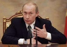 <p>Il presidente russo Vladimir Putin oggi al Cremlino REUTERS/RIA Novosti/Kremlin</p>
