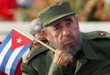 <p>Il presidente cubano Fidel Castro. REUTERS/Claudia Daut/Files</p>
