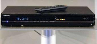<p>Un lettore Hd dvd di Toshiba. REUTERS/Rick Wilking</p>
