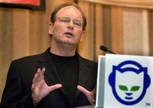 <p>Chris Gorog, presidente e amministratore delegato di Napster. REUTERS/Jeff Christensen JC</p>