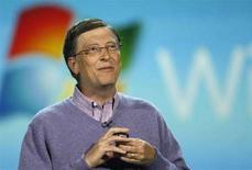 <p>Bill Gates in una foto d'archivio. REUTERS/Rick Wilking</p>