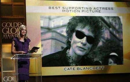 Cate Blanchett Wins Supporting Actress Golden Globe