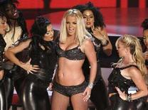 <p>Britney Spears durante una performance. REUTERS/Robert Galbraith (UNITED STATES)</p>