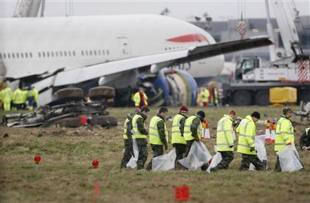 Engine problems blamed for Heathrow crash-landing - Reuters