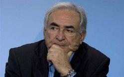 <p>Dominique Strauss-Kahn, direttore dell'Fmi. REUTERS/Tobias Schwarz (GERMANY)</p>
