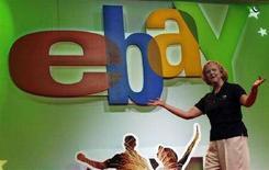 <p>Meg Whitman, presidente di eBay ad un evento della società a Boston, il 14 giugno 2007. REUTERS/Katie McMahon</p>