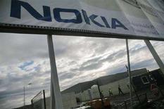 <p>Una fabbrica Nokia in Romania. REUTERS/Mihai Barbu (ROMANIA)</p>