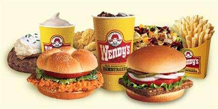 Selections from the menu of hamburger chain Wendy's International in an undated image. Nelson Peltz's Trian Partners said on Monday it is attempting to gain control of the board of directors at Wendy's, which it is attempting to buy. REUTERS/Handout