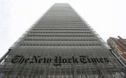 <p>Gli uffici del New York Times sulla 8th Avenue a New York. REUTERS/Gary Hershorn (UNITED STATES)</p>