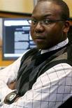 <p>Matuba Mahlatjie, uno dei blogger citati nell'articolo, a Johannesburg. REUTERS/Antony Kaminju (SOUTH AFRICA)</p>