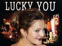 """<p>L'attrice Drew Barrymore alla prima del film """"Lucky You"""" al Tribeca Film Festival di New York. REUTERS/Lucas Jackson</p>"""