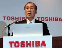 <p>Il presidente e ad di Toshiba Atsutoshi Nishida. REUTERS/Toshiyuki Aizawa</p>