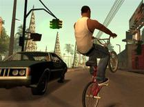 """<p>A screenshot from """"Grand Theft Auto: San Andreas"""". Electronic Arts Inc plans to make a $26-a-share tender offer for all outstanding shares of rival video game publisher Take-Two Interactive Software Inc, following its rejection of EA's unsolicited offer at the same price last month, according to a person familiar with the matter. REUTERS/Rockstar Games/Handout</p>"""