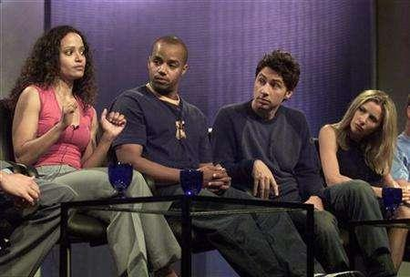 The cast of ''Scrubs'' (L-R) Judy Reyes, Donald Faison, Zach Braff and Sarah Chalke, answer questions about their roles on the show in a 2001 file photo. REUTERS/Adrees Latif