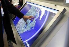 <p>Google Earth aiuterà Onu a documentare crisi umanitarie. REUTERS/Rick Wilking</p>
