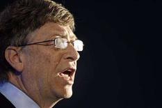 <p>Il fondatore di Microsoft, Bill Gates, 4 aprile 2008 REUTERS/Robert Sullivan</p>
