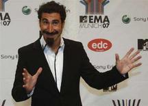 <p>Il cantante dei System of a Down Serj Tankian. REUTERS/Michael Dalder (GERMANY)</p>