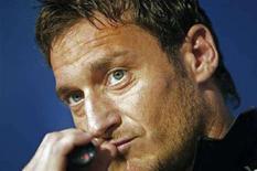 <p>Il capitano della Roma Francesco Totti. REUTERS/Alessandro Bianchi (SPAIN)</p>