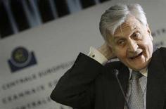 <p>Il presidente della Bce Jean-Claude Trichet. REUTERS/Kai Pfaffenbach (Germany)</p>