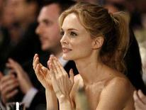 <p>L'attrice Heather Graham applaude durante la premiazione degll Screen Actors Guild Awards a Los Angeles. REUTERS/Mario Anzuoni (UNITED STATES)</p>