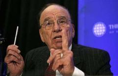 <p>Rupert Murdoch in una foto d'archivio. REUTERS/Kevin Lamarque (UNITED STATES)</p>