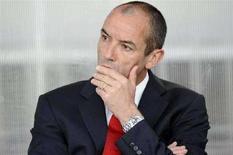<p>L'allenatore del Paris St Germain REUTERS/Gonzalo Fuentes</p>