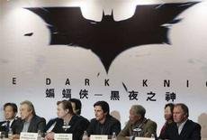 <p>La presentazione di Batman: The Dark Knigh a Hong Kong. REUTERS/Herbert Tsang</p>