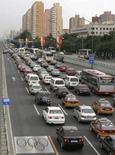<p>Il traffico a Pechino. REUTERS/Christina Hu</p>