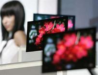 <p>Alcuni schermi Oled. REUTERS/Michael Caronna (JAPAN)</p>
