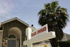 <p>Abitazione ipotecata a Stockton, California, in un'immagine del maggio 2008. REUTERS/Robert Galbraith/Files (Usa)</p>