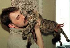 <p>I gatti più degli uomini minacciano la fauna ittica, dice studio. REUTERS PICTURE</p>